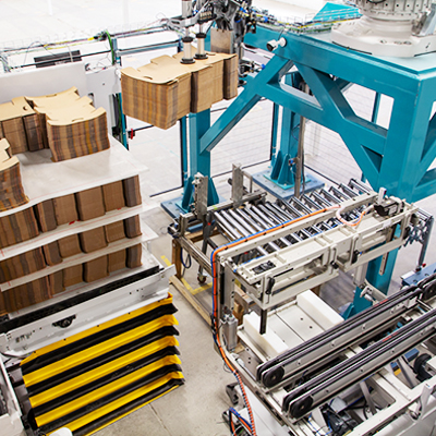 Robotic EoP Palletizer